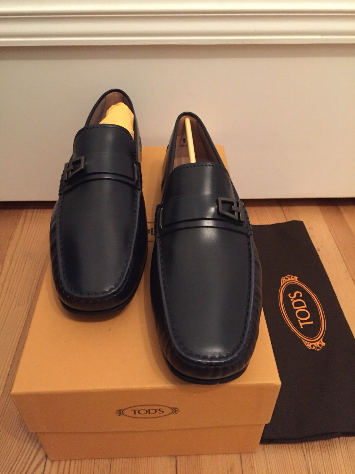 Uomo MOCASSINI 42,5 di TODS TODS TODS NUOVO€ 445,- 89b97d