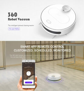 Details about 360 S6 Smart Robotic Vacuum Cleaner Sweeping Robot LDS HEPA  SLAM APP Control