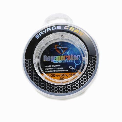 Hardmono Savage Gear Regenerator Monofil //// Vorfach zum Hechtangeln
