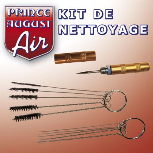 KIT DE NETTOYAGE POUR AEROGRAPHE  Prince August AAG30