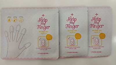 [Etude House] Help My Finger Nail Finger Pack + Samples~