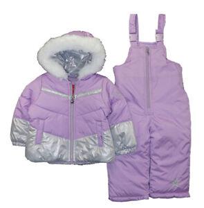 London Fog Infant Boys Blue /& Navy Snowsuit Size 12M 18M 24M