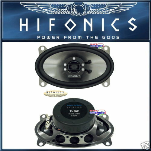 "Hifonics  TS462 4/"" x 6/"" oval 2-Wege Speziallautsprecher"
