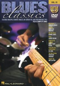 guitar play along blues classics learn to play bb king eric clapton music dvd 9781423483342 ebay. Black Bedroom Furniture Sets. Home Design Ideas