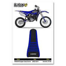 2002-2014 YAMAHA YZ 85 Blue/Black/Blue RIBBED SEAT COVER BY Enjoy MFG