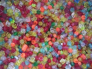 Lego-Vrac-100-pieces-transparentes-Neuves-Bulk-100-Trans-colored-plates-NEW