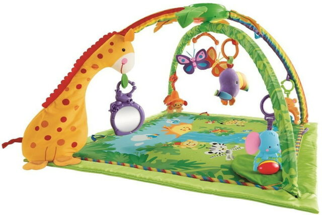 Rainforest Melodies and Lights Deluxe Gym K4562 Fisher-Price from Japan New F/S