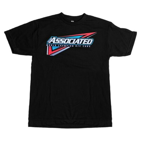 Team Associated Tri T-shirt noir SP126L Large