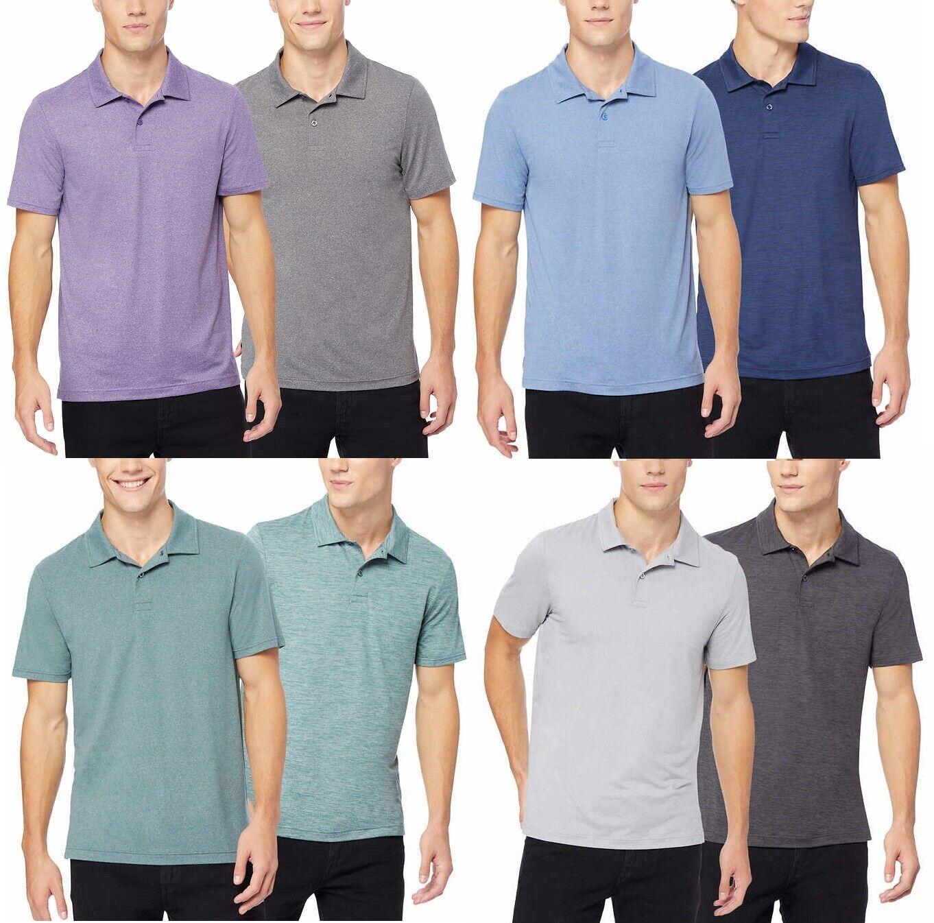32° Degrees Cool Men's Performance Short Sleeves Polo Shirt