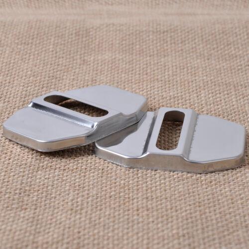 4x Rustproof Türschlossfalle Schutz Door Stürmer Cover For Mercedes E200L GLK300