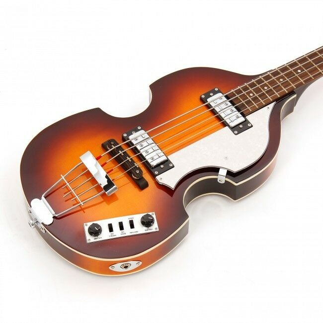 NEW HOFNER BEATLE IGNITION BASS GUITAR  With Fitted Deluxe Case HI-BB-SB