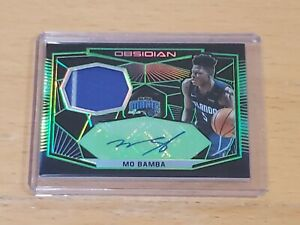 2018-Panini-Obsidian-Mo-Bamba-RC-Auto-SSP-25-True-RPA-2-Color-Patch-Rookie