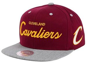 237bbdc87f1 Image is loading Cleveland-Cavaliers-Mitchell-amp-Ness-Heather-Special- Script-