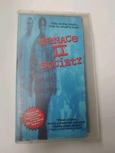 Menace-II-Society-VHS-1993-Larenz-Tate-Samuel-L-Jackson-Jada-Pinkett-Smith