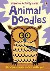 Usborne Activity Cards Animal Doodles by Fiona Watt (Novelty book, 2010)
