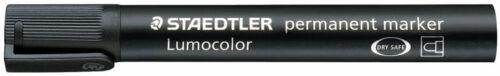 10 x Staedtler Permanent Marker Filzstift Lumocolor® 352 Rundspitze 2mm schwarz
