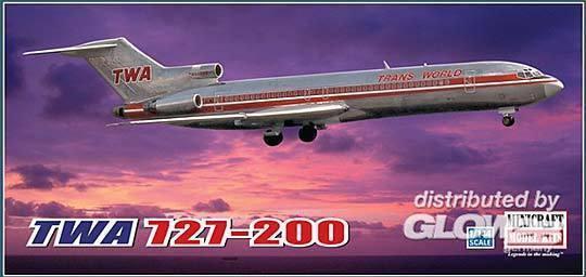 TWA 727-200 Project Skinny (Minicraft 14599) 1 144