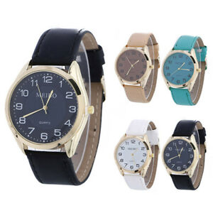 Fashion-Men-Woman-Stainless-Steel-12-Hour-Dial-Leather-Band-Analog-Wrist-Watch