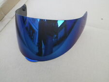 CABERG Visier für Mod. 103 / 105 kratzresistent, blau verspiegelt