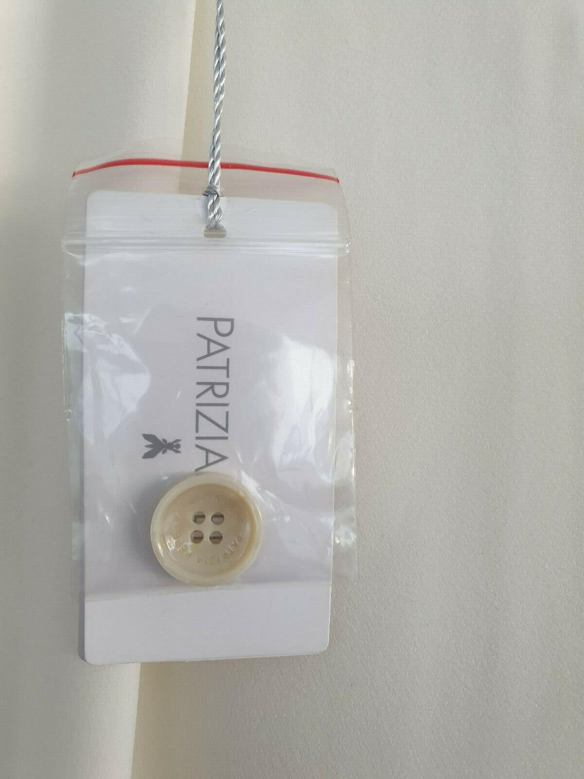 PANTALONE PANTALONE PANTALONE PATRIZIA PEPE DONNA PANTS TROUSERS 8P0068 AN99 W146 BIANCO ORIGINALI ea724a