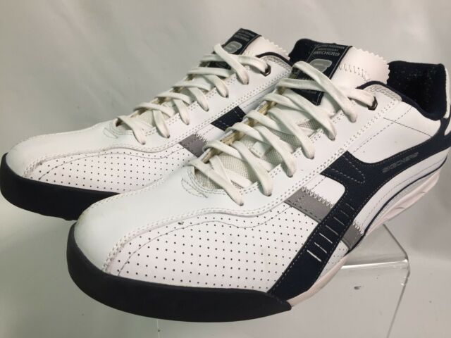 Skechers White Leather 1992 Athletic Shoes 5 Star Champion ...