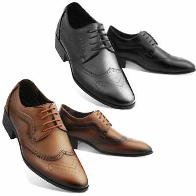 The Maling Mens Oxford Wing tip Shoes Classic Formal Lace up Dress Shoes Efron