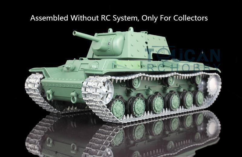Henglong 3878 Soviet KV-1 Static 1 16 Metal Model Tank Armor Vehicle W O RC