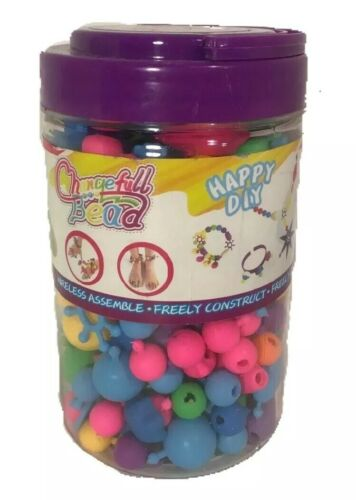 Pop Beads Snap Beads Set DIY Arts /& Crafts Kids Jewelry Making 260 pieces