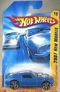 HOT WHEELS 2007 NEW MODELS 16//36 /'70 PONTIAC FIREBIRD BLUE