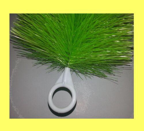 20 pièces Filtre Brosse vert Fein 80 cm de long étang Brosse koiteich étang Filtre