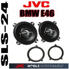 BMW 3er E46 Touring Einbauset JVC 2-Wege Lautsprecher 13cm + Lautsprecherringe