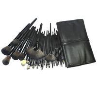32pcs Superior Professional Soft Cosmetic Makeup Brush Set Kit + Pouch Bag Case