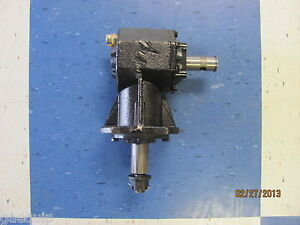 ROTARY-CUTTER-GEARBOX-SHEARPIN-45HP-FITS-4-039-amp-5-039-MOWERS-12-SPLINE-MANY-BRANDS
