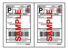 Best Premium Mailing Shipping Labels 85 X 55 Half Sheet Self Adhesive