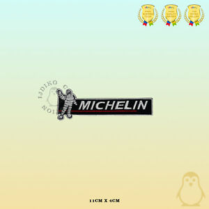 Michelin Brand Logo Embroidered Iron On Sew On Patch Badge For Clothes etc