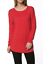 Women-039-s-Basic-Long-Sleeve-Tunic-Round-Neck-Solid-Soft-Jersey-Pullover-Top-Shirt thumbnail 34