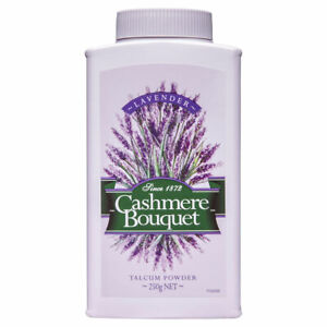 CASHMERE BOUQUET TALCUM POWDER WITH A FRESH SCENT OF LAVENDER 250G