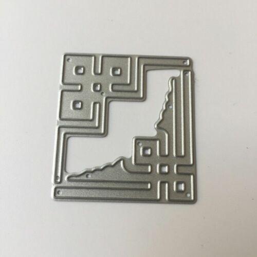 Letter Metal Cutting Dies Stencil Scrapbook Card Album Decor Embossing Craft DIY
