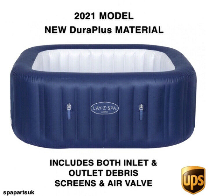 2021 Bestway Lay Z Spa Hawaii Liner / Tub / Body - NO HEATER OR COVERS BRAND NEW