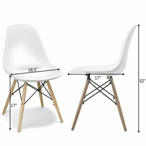 Retro Dining Table Modern Kitchen Table and 4 Dining Chairs UK