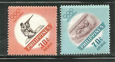 PHILIPPINES C85-86 MNH 1960 OLYMPICS