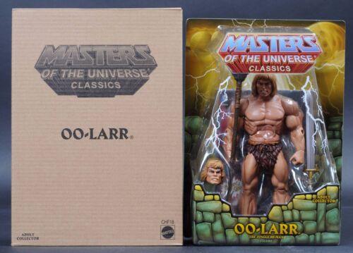 2015 Mattel MASTERS OF THE UNIVERSE Oo-Larr MOTUC Masters of the Universe Classics Comme neuf on Card