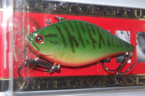 """lucky craft lvr d-10 sinking 3 1//4/"""" 3//4oz musky bass pike rattle trap"""