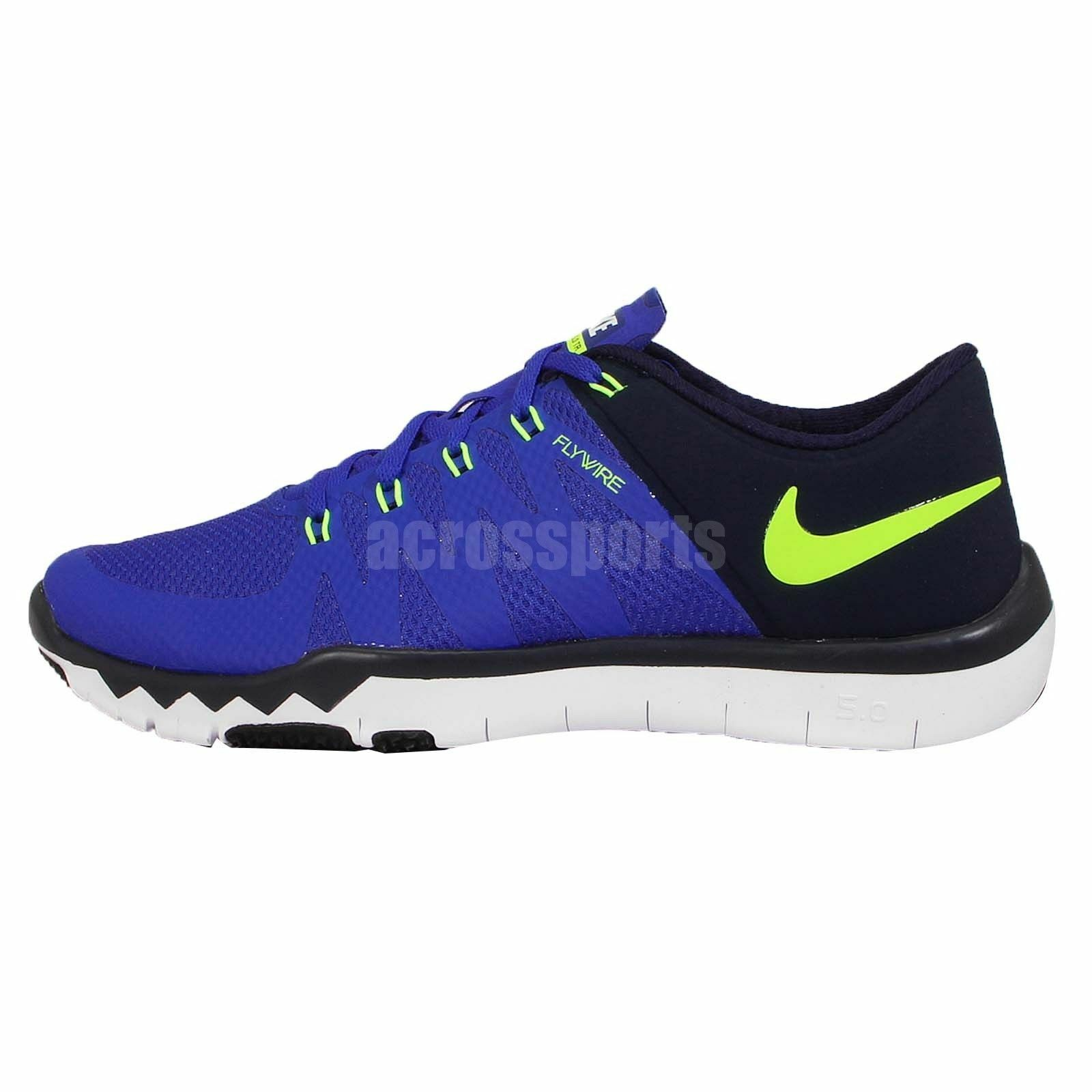 New NIKE Mens 10.5 FREE TRAINER 5.0 V6 719922 470 ROYAL BLUE RUNNING SHOES Price reduction