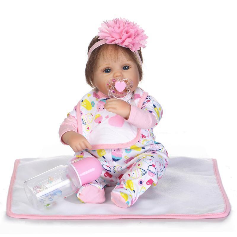 17  realista Reborn Bebé recién nacido de la vida real vivo Vivero Bebe Niña Muñeca más recientes