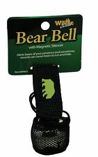 Bear Bell with Magnetic Silencer Hiking Safety