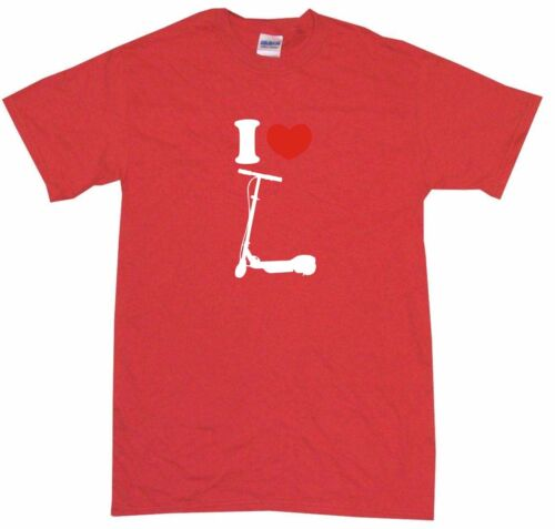 XL I Heart Love Foot Scooter Logo Kids Tee Shirt Pick Size /& Color 2T