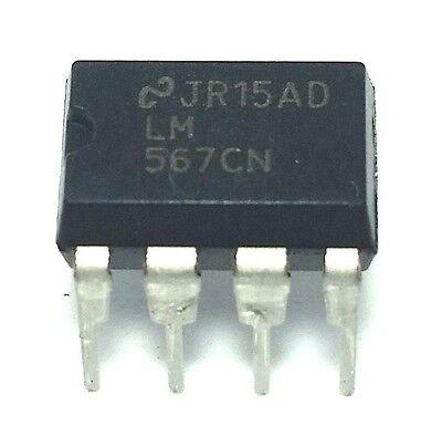 50PCS LM567CN DIP-8 LM567 Tone Decoder CHIP IC