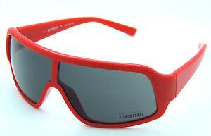 Bikkembergs-Unisex-Designer-Sonnenbrille-BK53405-Rot-inkl-Lederetui