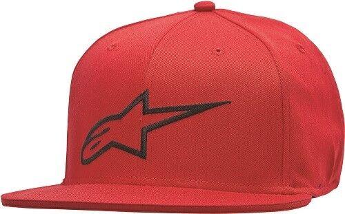 Alpinestars Adult Ageless Flat Bill Flex Back Hat Pick Size and Color